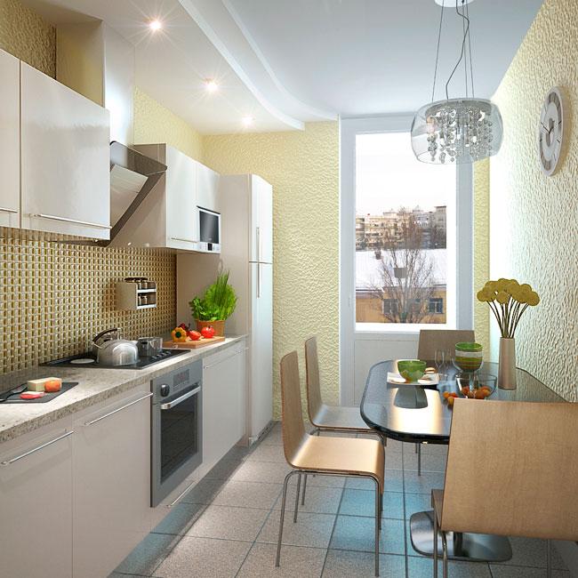 Дизайн небольшой кухни (54 фото) - создаем своими руками: ин.