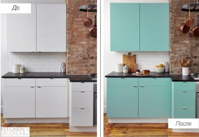 как обновить своими руками дверцы кухонного гарнитура
