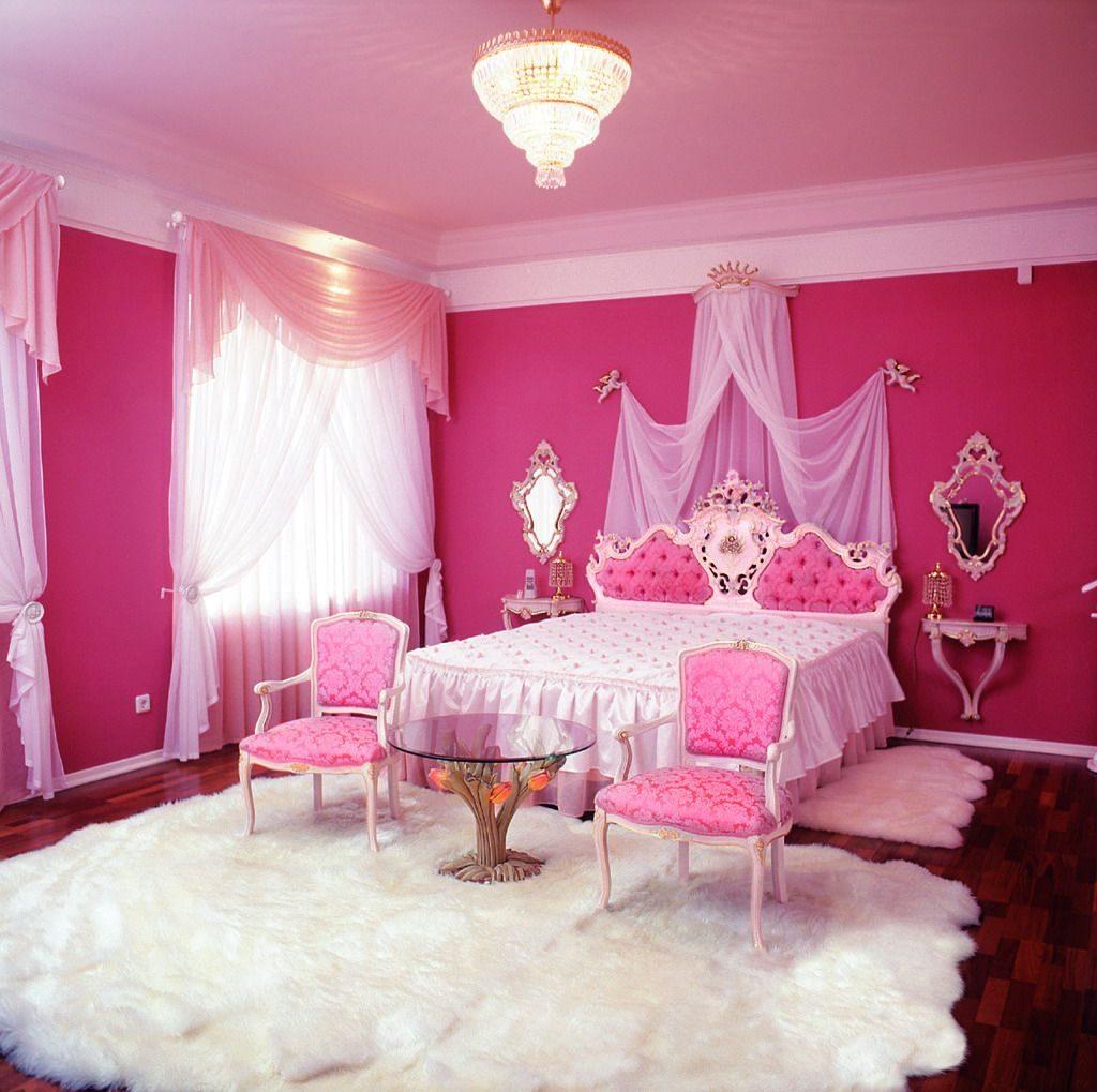 Hiasan Bilik Tidur Warna Pink Desainrumahid