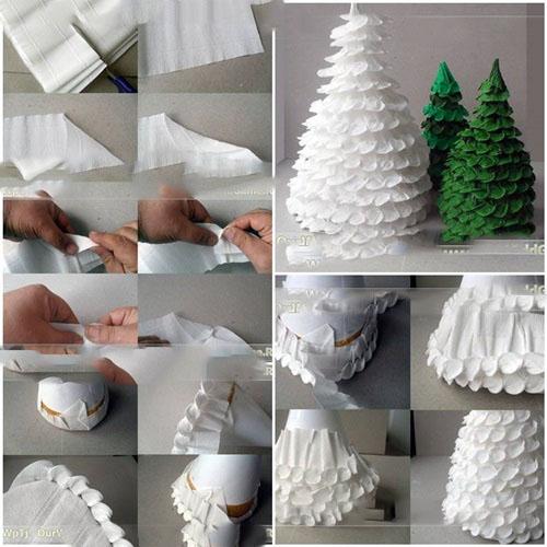 e296f6b1f Ak ste dlho mal nápad, aby sa domáci vianočný strom miesto nákupu nový rok  ďalšie porazeného stromu, čítať, ako si sami môžete urobiť vianočný stromček  s ...