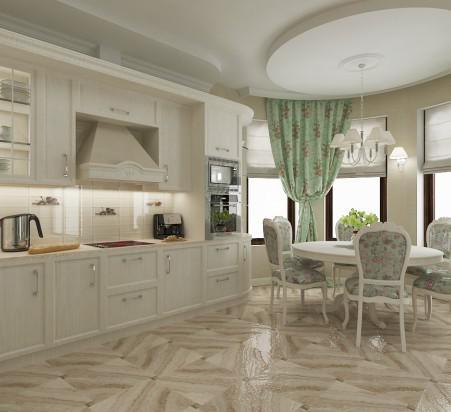 проектирование кухни в частном доме интерьер кухни в частном доме
