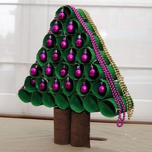 78530aa8e Ako urobiť vianočný stromček s vlastnými rukami v záhrade - Master class  remeslá doma