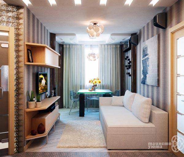 интерьер гостиной удлиненной прямоугольной формы идеи дизайна