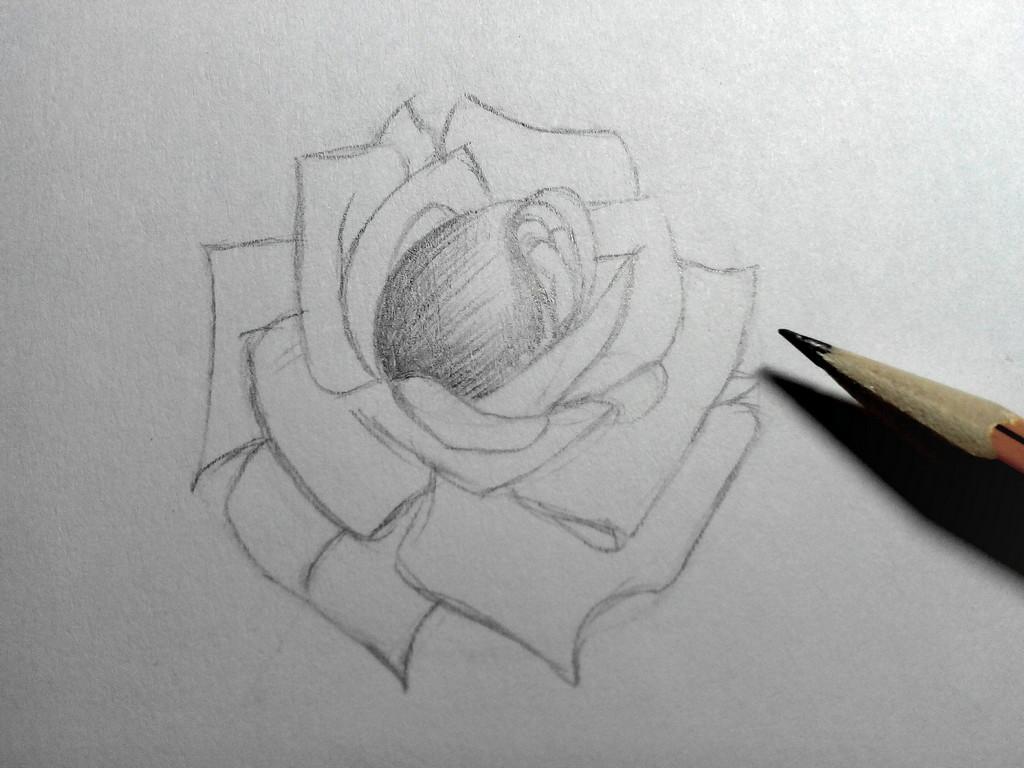 Kalbi nasıl çizebilirim Kalemle