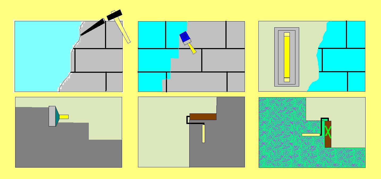 Apartmanda duvarları tamir aşamaları hakkında