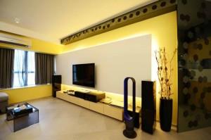 Ruang Tamu Kuning Kelihatan Penuh Semulajadi Boleh Menimbang Dan Sangat Cepat Mengganggu Oleh Itu Warna Ini Mestilah Digabungkan Dengan Sesuatu