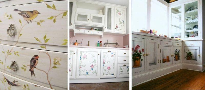 Декор кухонного шкафа своими руками 84