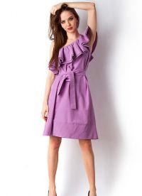 2cfa86822aab Obuv lilac farba je perfektne kombinovaná s farebnými a kombinézy.