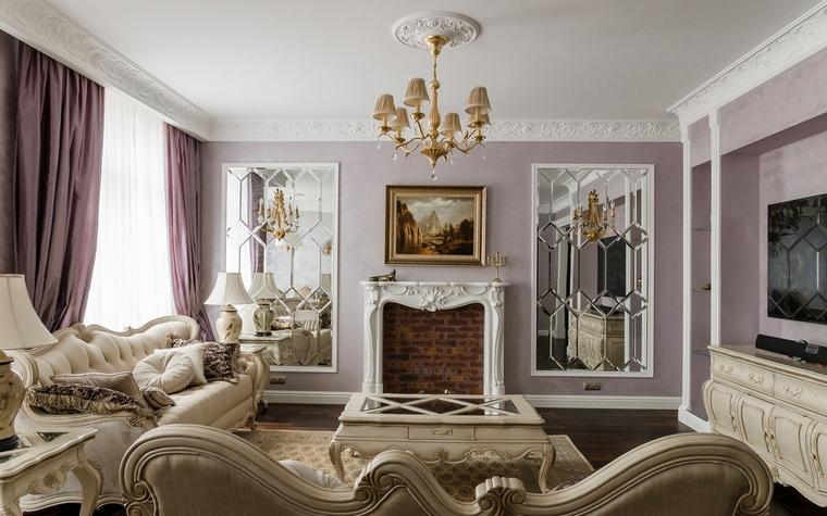 фото классическая гостиная
