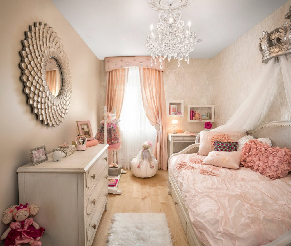 Bir kız için bir oda iç nasıl seçilir