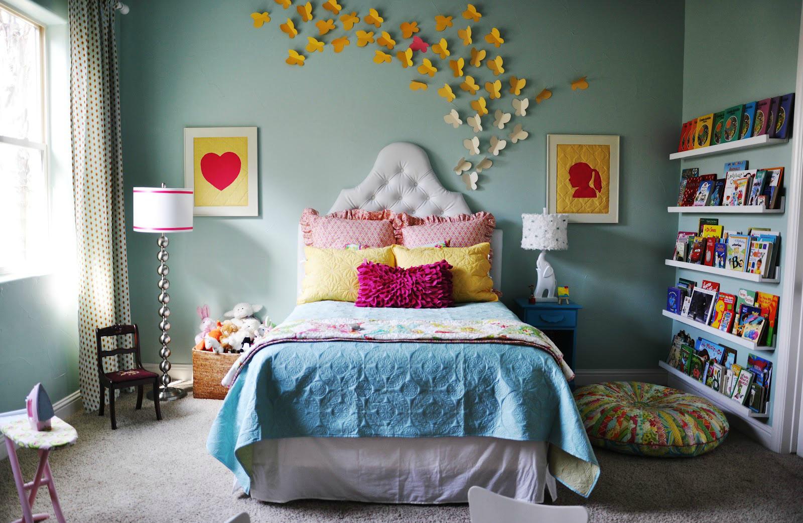Как украсить своими руками свою маленькую комнату в фото 557