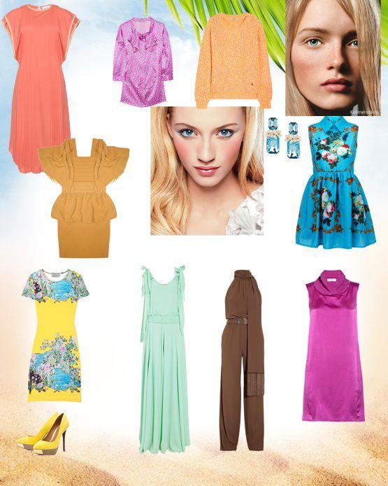 Jenis jenis warna. Stylist Peribadi Julia Muraveva 270e441633